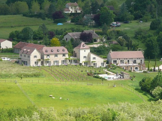 Hôtel Spa Le Saint Cirq : Vue de l'hôtel