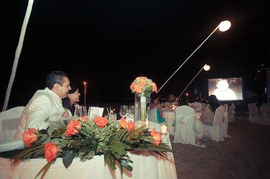 Buenaventura Grand Hotel & Great Moments All Inclusive: Ramo y mesa de novios