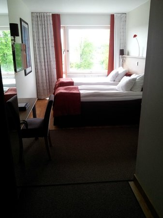 Best Western Hotel Halland : View of beds
