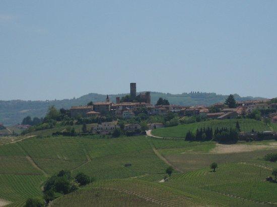 Osteria Veglio : Aussicht von der Terrasse