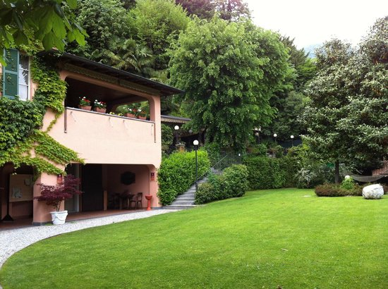 Hotel Terzo Crotto: part of the garden area