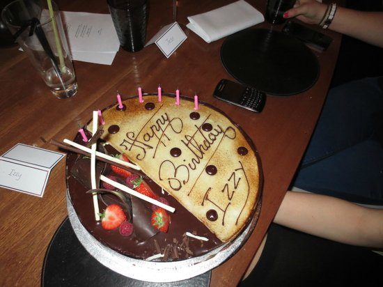 Bluebird Chelsea: Bluebird birthday cake - looked and tasted great