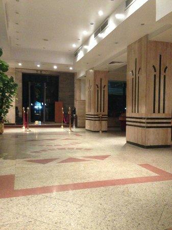 Marhaba Palace Hotel : Il ricevimento