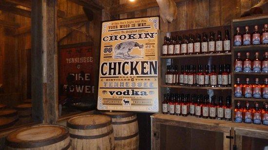 Gatlinburg Barrelhouse: They even have corn vodka