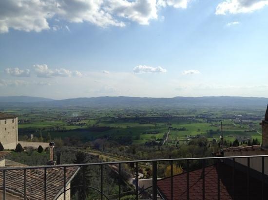 Hotel Sole: Aussicht vom Balkon