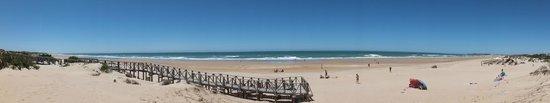 Playa de la Barrosa: Vista panorámica
