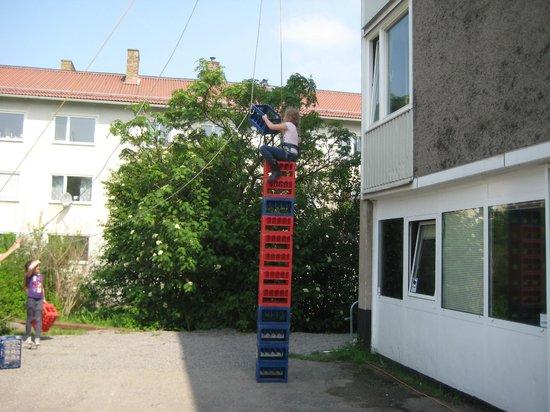 Boda Borg - Oxelosund: Så här högt kom jag!