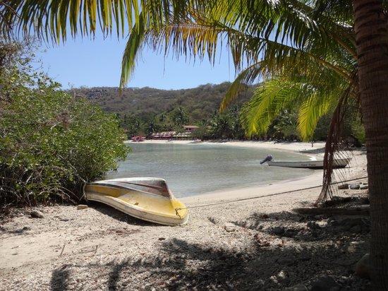 Playa Las Gatas : The far end of the beach
