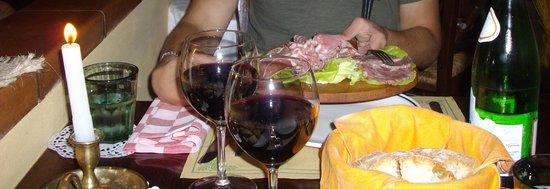 Buggiano, Taliansko: misto affettati, deliziosi