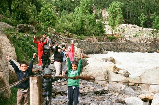 On Baspa river at Baikunth Adventure camps