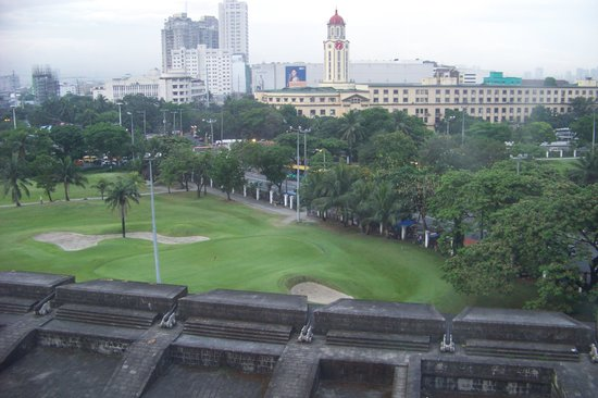 The Bayleaf Intramuros : Beyond Intramuros fort walls to Manila, just before the river