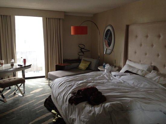 โรงแรมรีเวียร์บอสตัน คอมมอน: Our Room