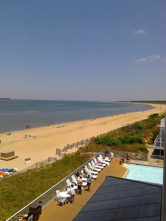 Virginia Beach Resort Hotel and Conference Center: view from my room
