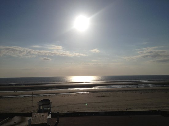 Hotel La Terrasse : La vue sur mer hôtel la terasse
