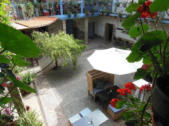Hotel Arqueologo Exclusive Selection: Central courtyard