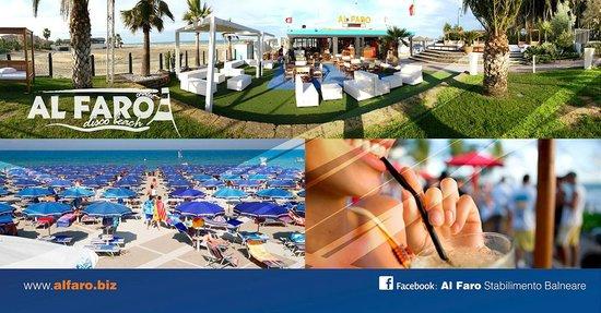 """La Pergola : La Nostra Spiaggia Privata """"Al Faro"""""""