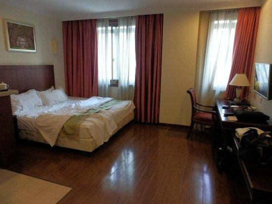 Hanting Express Shanghai Caohejing Yishan Road: 部屋はかなり広い