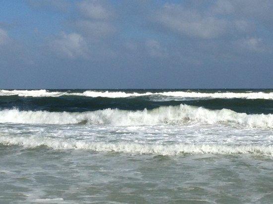 close up of surf outside of Phoenix V