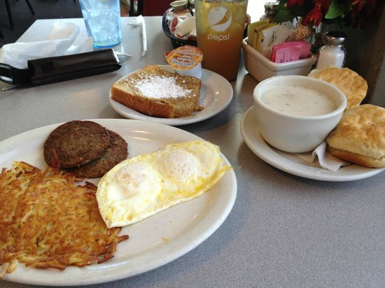 Duck's Diner : Duck's Choice with side of French Toast