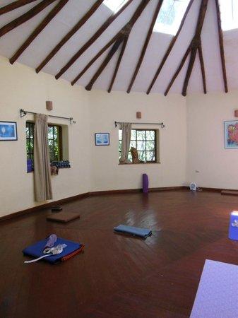 Hatun Wasi Urubamba: Temple/yoga room