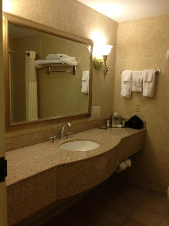 DoubleTree by Hilton Hotel Burlington: Bath