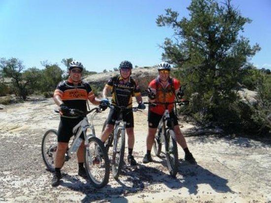 Utah Mountain Biking Adventures: On GooseBerry Mesa  Good times