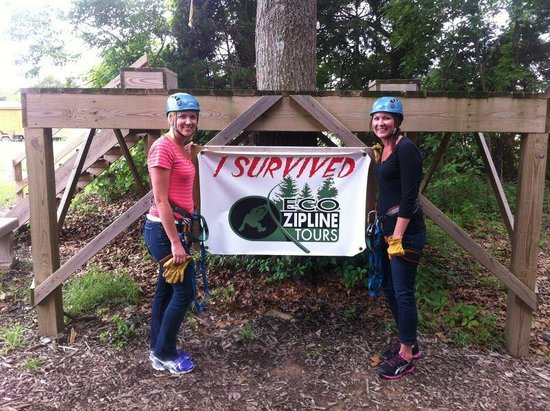 Eco Zipline Tours: My Sister and I