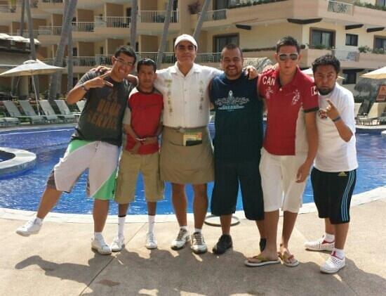 Villa del Mar Beach Resort & Spa : nuestro bar tender Javier