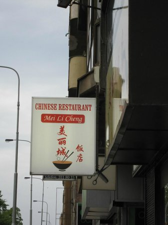 Hotel International Prague: Chinese Restaurant with English menu (100m from hotel)