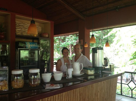 Hotel Cantarana : Owners - Marko & Sabine