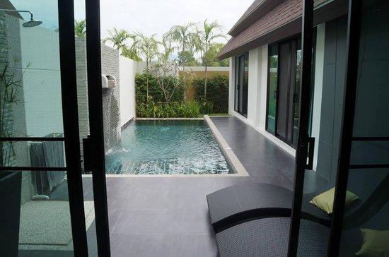 The Kiri Villas Resort: Private pool