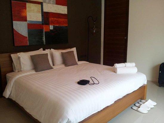The Kiri Villas Resort: Comfy bed