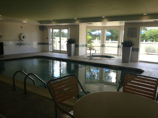 Fairfield Inn & Suites Savannah Airport: Pool Area