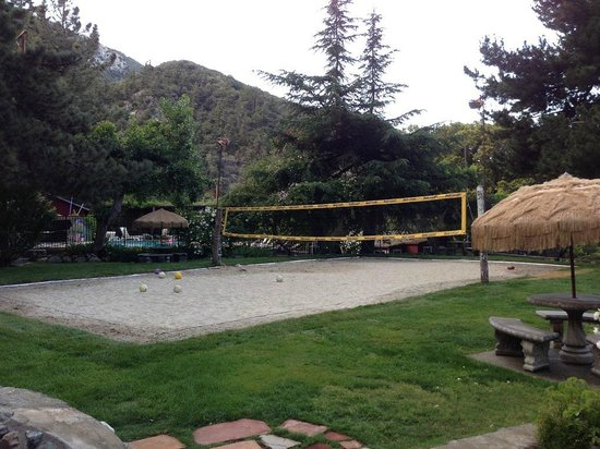 Mount Baldy Lodge: Nice volley ball court, pool and picnic areas