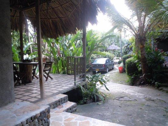 Ecohostal Yuluka: Recepcion