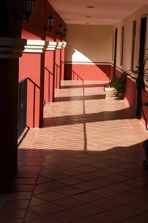 Hotel Real de Naturales Cholollan: El sol de la mañana.