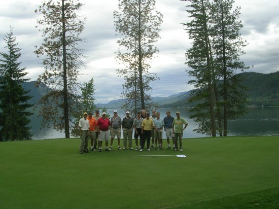 Talking Rock Golf Course : Shuswap Fins and Skins trip