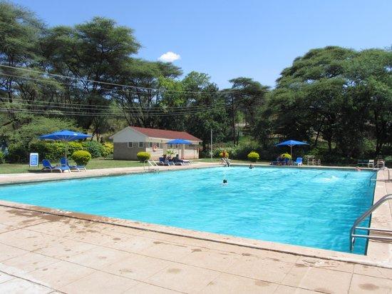 "Lake Bogoria Spa Resort: ""Cold"" pool"
