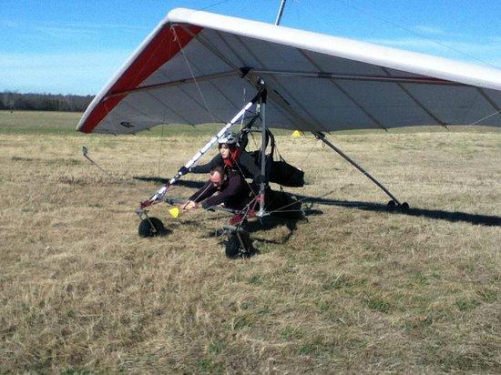 Virginia Hang Gliding: The glider!