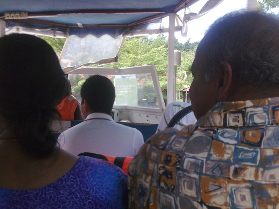 Langkawi Duck Tours- Day Tours: mum and dad in their crammy seats!!