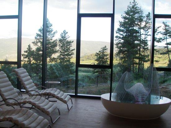 Sparkling Hill Resort : Tea room