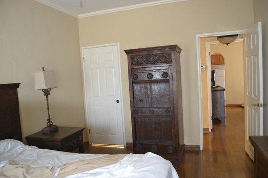 El Cordova Hotel : Bedroom