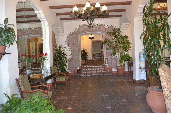 El Cordova Hotel : Hotel lobby