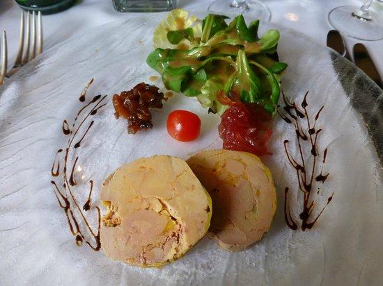 Croix d'ouchy : La terrine de foie gras
