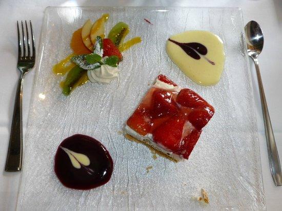 Croix d'ouchy : Le fort joli et délicieux dessert