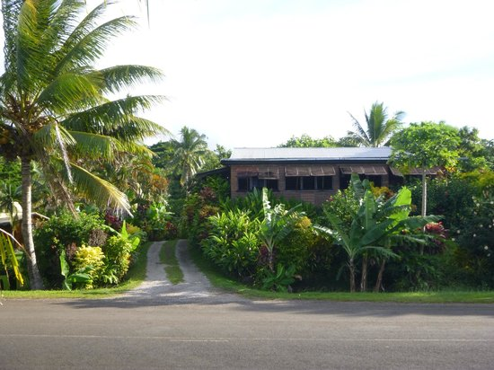 TovuTovu Resort: Outside of Restaurant