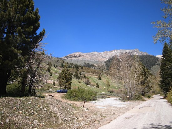 Silver City Mountain Resort: view miles up the road