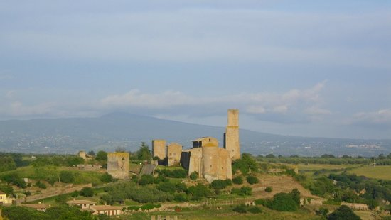 Hotel Tuscania Panoramico: view from terrace