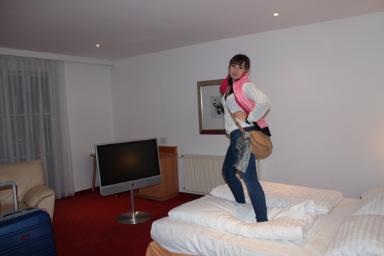 Hotel Plattenwirt: Номер для молодоженов..