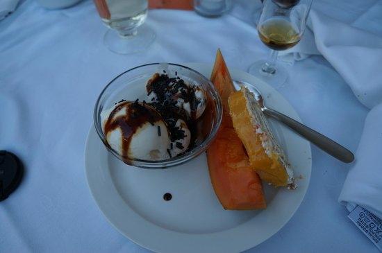 Paradise Valle Taurito: Dessert is og frugt